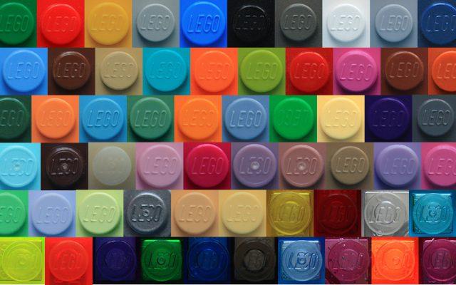 LEGO Farver 1990erne